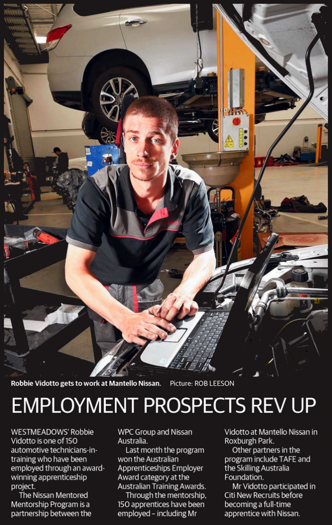 Employment Prospects Rev Up news clipping