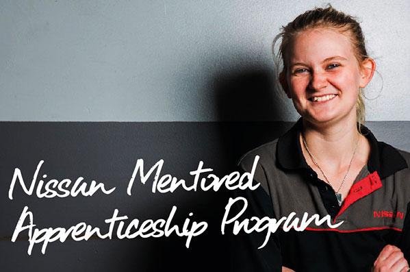 Nissan Mentored Apprenticeship Program