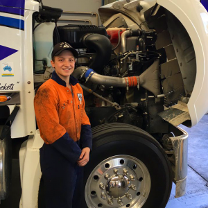 Themida is thriving during the 1st year of her apprenticeship with #StillWellTrucks #dreamJob #careers #skillsgap #WomenInTrades