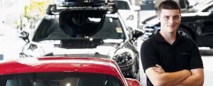 'The apprentice whose work car is a Porsche' – Fairfield Advance, Sydney